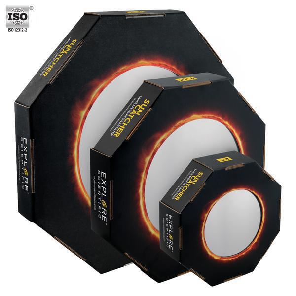 EXPLORE SCIENTIFIC Sun Catcher Sonnenfilter für 150-160mm Newton
