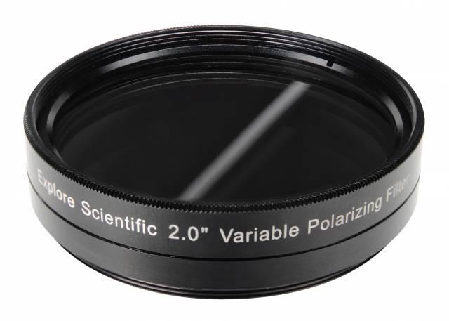 """EXPLORE SCIENTIFIC 2"""" Variabler Polfilter"""