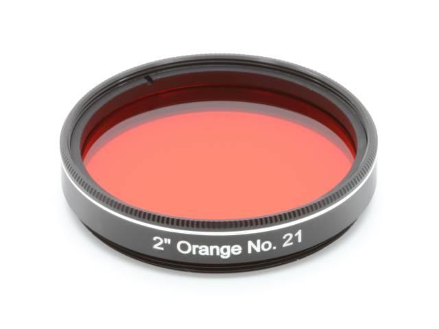 """EXPLORE SCIENTIFIC Filter 2"""" Orange Nr.21"""