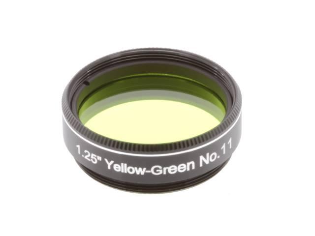 "EXPLORE SCIENTIFIC Filter 1.25"" Gelb-Grün Nr.11"