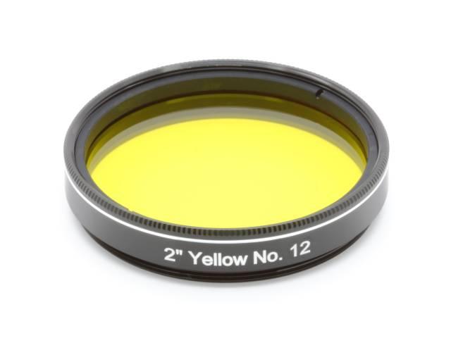 """EXPLORE SCIENTIFIC Filter 2"""" Gelb Nr.12"""