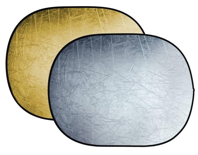 BRESSER BR-TR5 2-in-1 Faltreflektor gold/silber 150x200cm