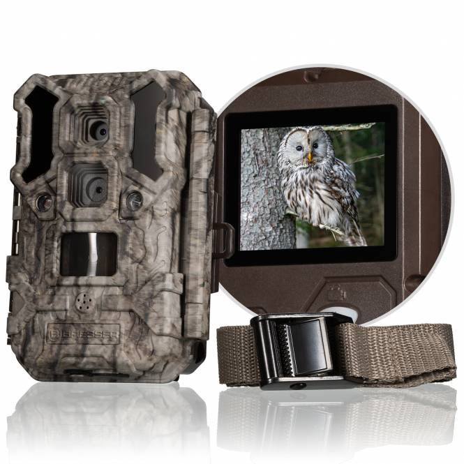 BRESSER Überwachungskamera DL-30MP mit DualLens System