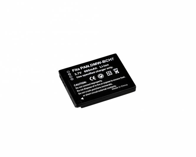 BRESSER Lithium-Ionen Ersatzakku für Panasonic DMW-BCH7E