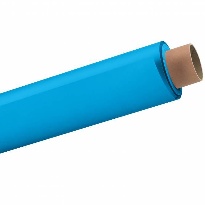 BRESSER 06 Papierhintergrundrolle 1,35x11m Lagune/Nassau-Blau