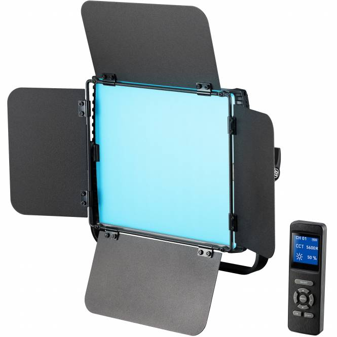 BRESSER BR-S36 RGB Professionelle LED Multi-Farbleuchte