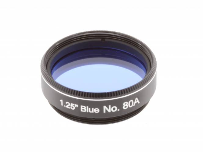 "EXPLORE SCIENTIFIC Filter 1.25"" Blau Nr.80A"