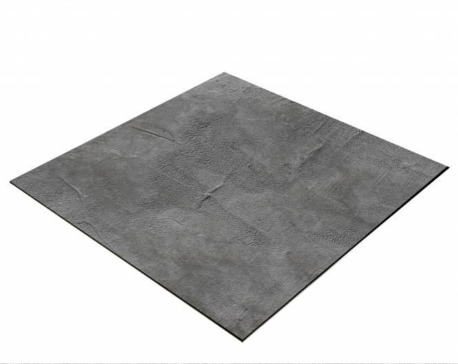 BRESSER Flatlay Hintergrund für Legebilder 40x40cm Betonlook Dunkelgrau