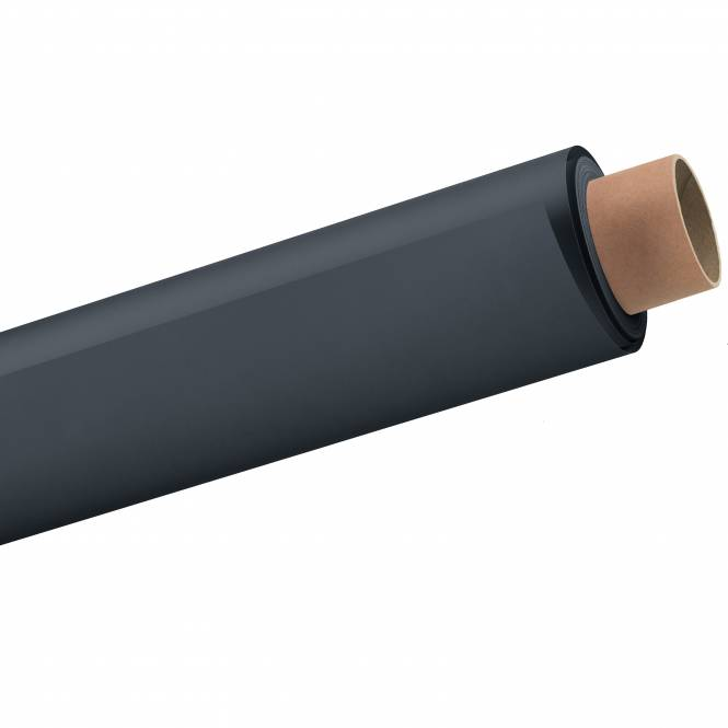 BRESSER 57 Papierhintergrundrolle 2,72x11m kohlegrau/donnergrau/anthrazit