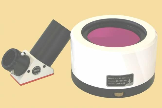 LUNT LS100FHa/B1800d2 H-Alpha Sonnenfilter