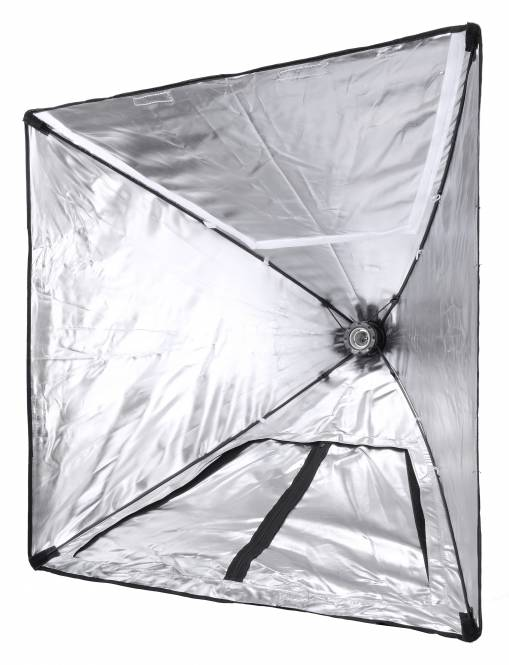 BRESSER SS-28 Fotozelt + Power Softbox mit Lampenfassung 70x70cm