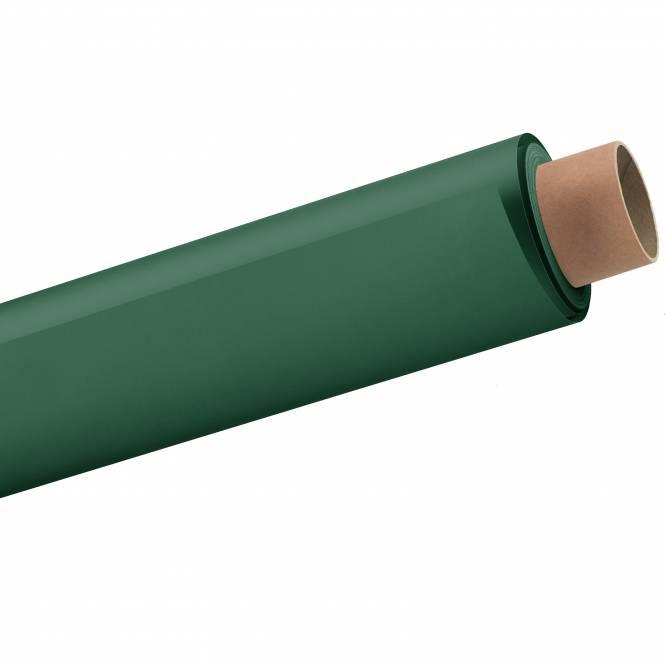 BRESSER 12 Papierhintergrundrolle 2,72x11m fichtengrün/dunkelgrün