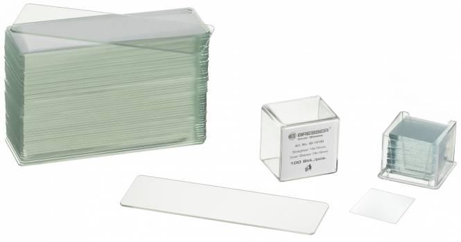 BRESSER Objektträger/Deckgläser 50/100 Stk.