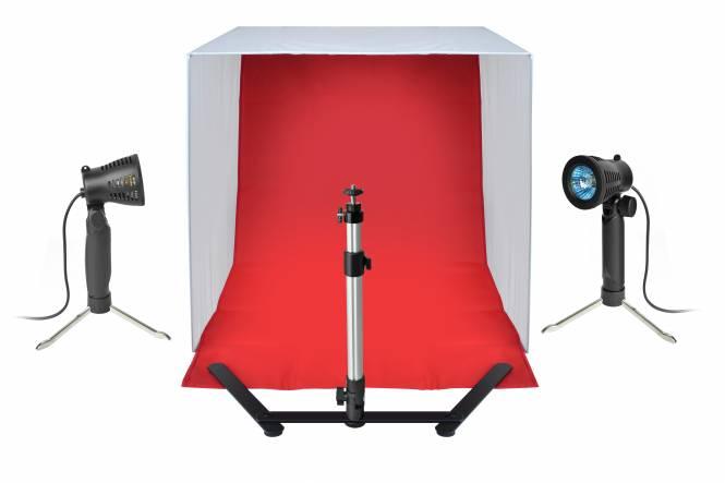 BRESSER BR-2118B Produktaufnahme-Set 60x60x60cm