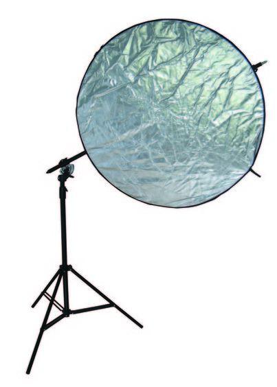 BRESSER BR-RH400 Lampenstativ + Schwenkarm/Reflektorhalter