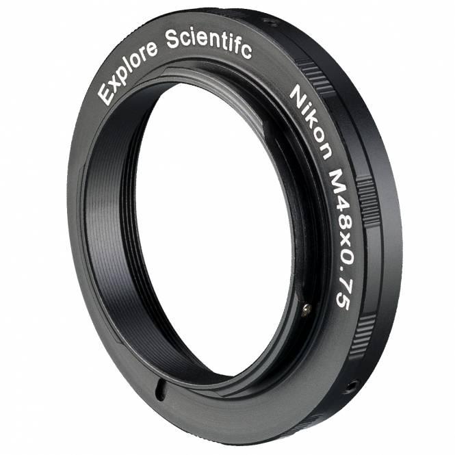 EXPLORE SCIENTIFIC Kamera-Ring M48x0.75 für Nikon
