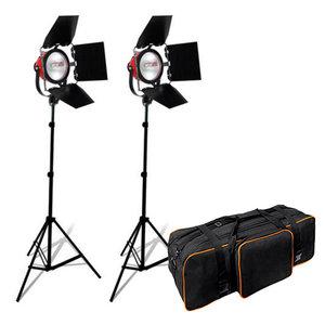 BRESSER Studio Set 1 Foto/Video SG-800 Halogen