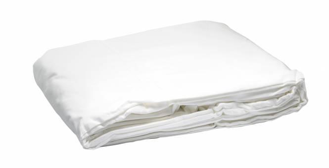 BRESSER Y-9 Hintergrundtuch 3x4m Weiß