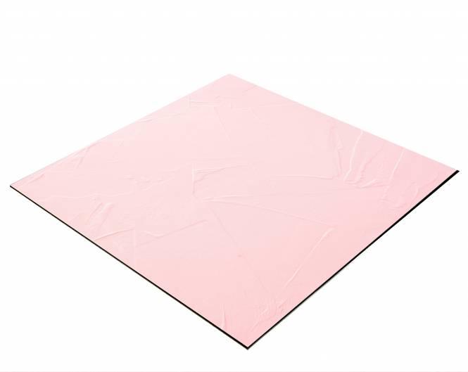 BRESSER Flatlay Hintergrund für Legebilder 60x60cm Pastellrosa