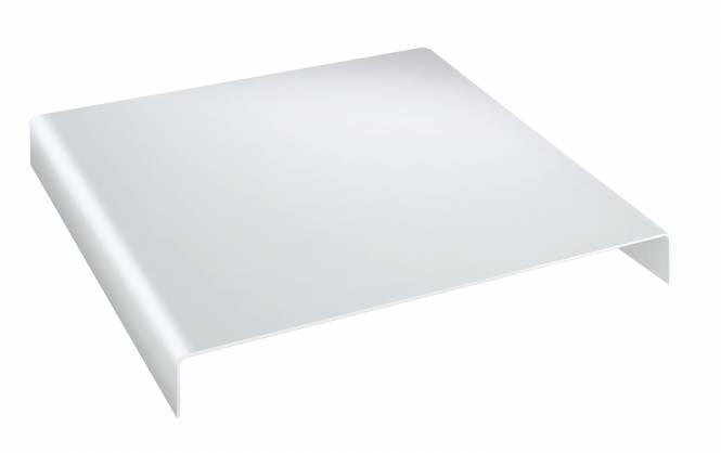 BRESSER BR-AR1 Acrylpodest 24x24x5cm weiß