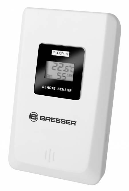 BRESSER Thermo-/Hygro-Sensor für MeteoTemp WTM Farbwetterstation #7007510