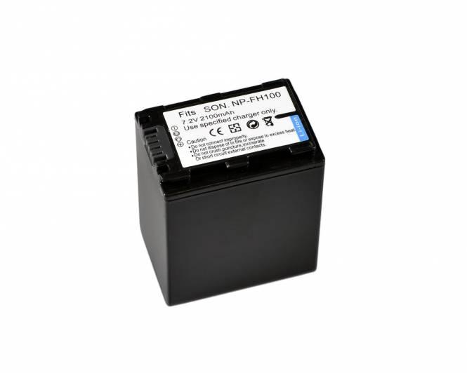 BRESSER Lithium-Ionen Ersatzakku für Sony NP-FH100