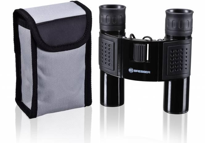 BRESSER Topas 10x25 Fernglas mit robusten Metallgehäuse und rutschfester Gummiarmierung / Perfekt zum Wandern, Sportevents oder Tierbeobachtungen