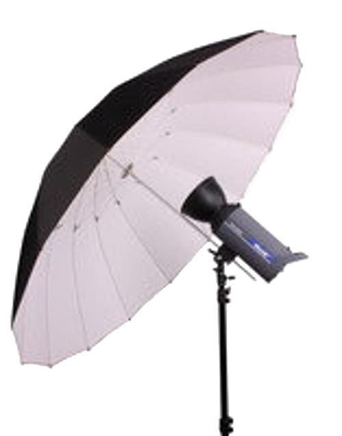 BRESSER SM-14 Jumbo Reflexschirm 180 cm schwarz/weiß