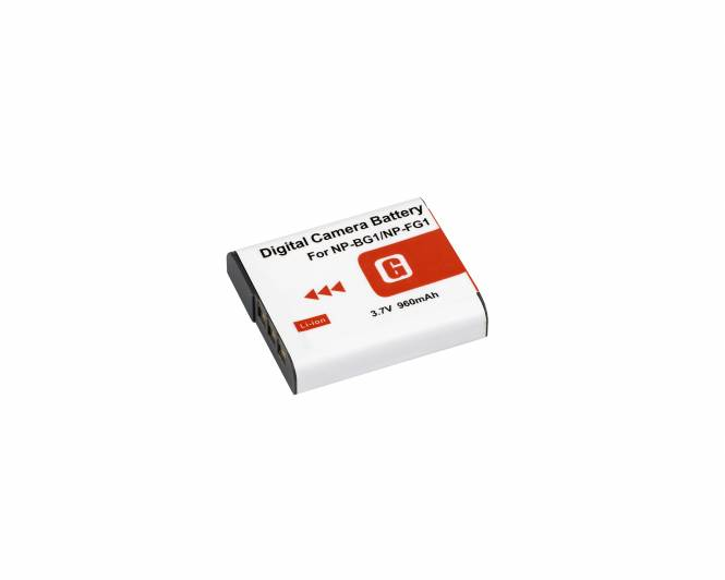 BRESSER Lithium-Ionen Ersatzakku für Sony NP-FG1