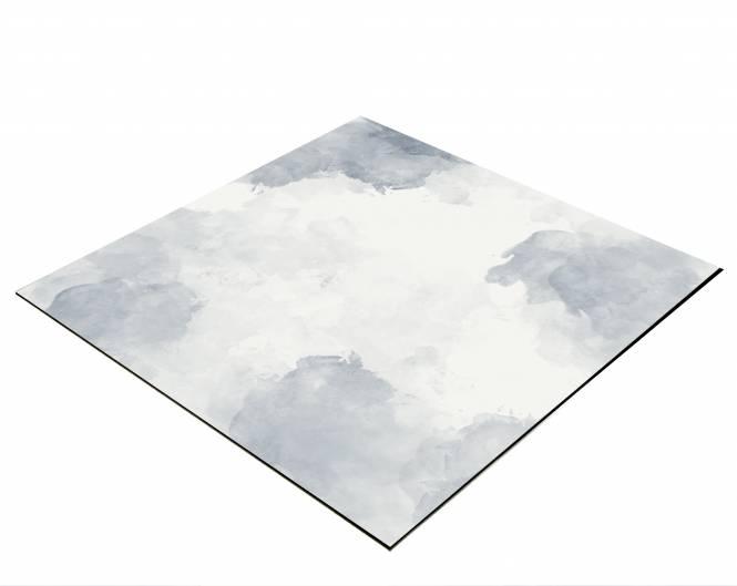 BRESSER Flatlay Hintergrund für Legebilder 60x60cm graue Wolken