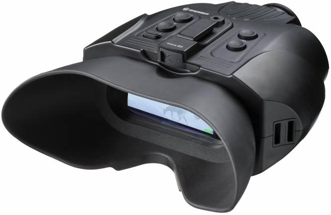 BRESSER Digital Nachtsichtgerät Binokular 3x mit Aufnahmefunktion