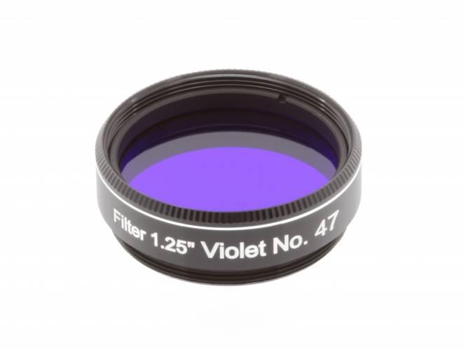 """EXPLORE SCIENTIFIC Filter 1.25"""" Violett Nr.47"""