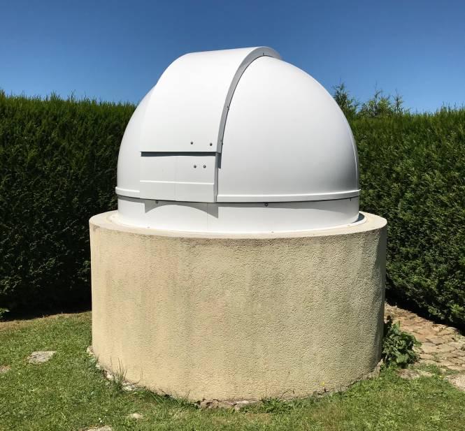 PULSAR 2.2m Observatorium - niedrige Bauform