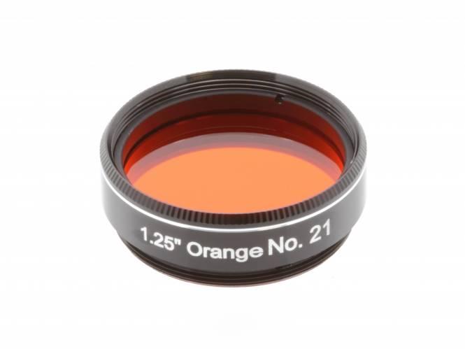 """EXPLORE SCIENTIFIC Filter 1.25"""" Orange Nr.21"""