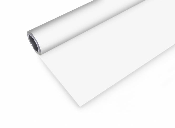BRESSER Vinyl Hintergrundrolle 2,72x8m weiß
