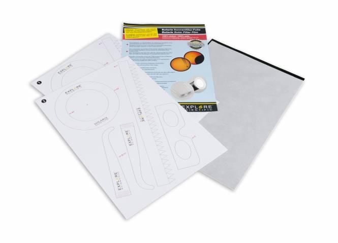 EXPLORE SCIENTIFIC Solarix Sonnenfilterfolie A4