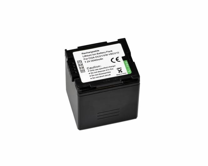 BRESSER Lithium-Ionen Ersatzakku für Panasonic VW-VBD210/CGA-DU421