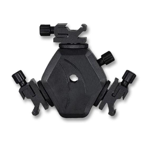 BRESSER JM-29 Blitzhalter für 3 Kamerablitze