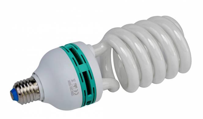 BRESSER JDD-6 Spiral Tageslichtlampe E27 / 125 W