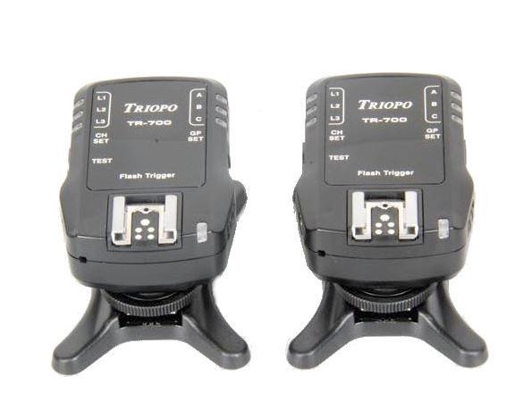 Triopo TR-800C E-TTL(II) Auslöserset für Canon