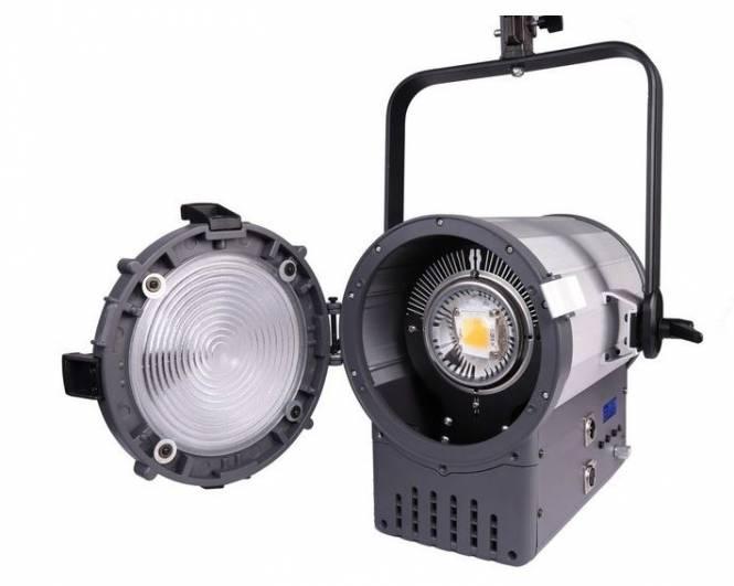 BRESSER SR-1500 LED Fresnel Spotlight mit DMX + Kühlung