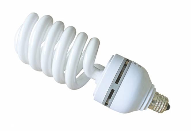 BRESSER JDD-6 Spiral Tageslichtlampe E27 / 65 W