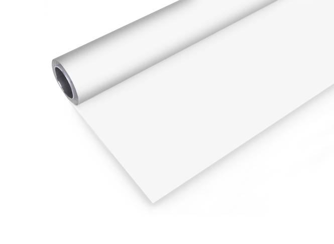 BRESSER Vinyl Hintergrundrolle 2x4m weiß