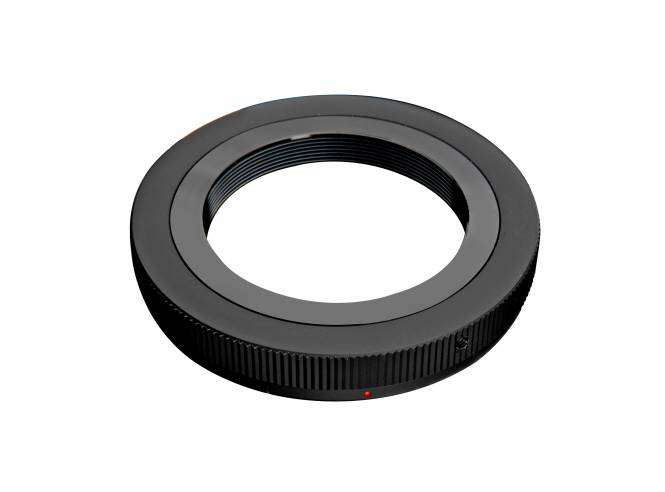 BRESSER Kamera Bajonettadapter für Canon R/RP auf T2/M42 Gewinde
