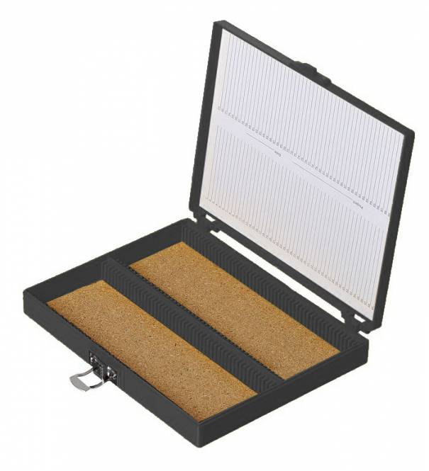 Euromex PB.5185 Präparate Kasten für 100 Präparate