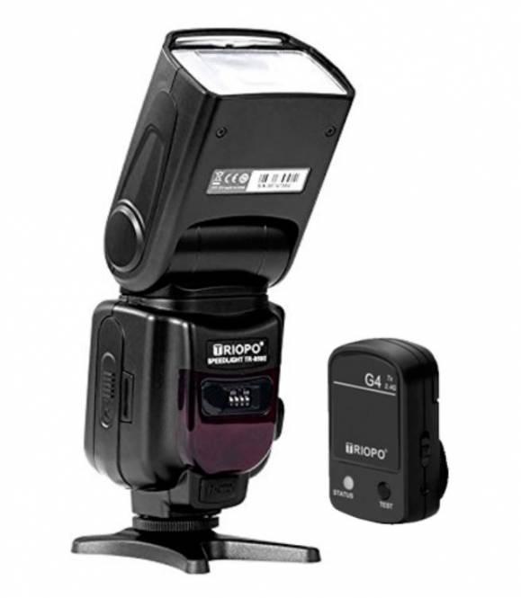 Triopo TR950-II universeller, manueller Kamerablitz