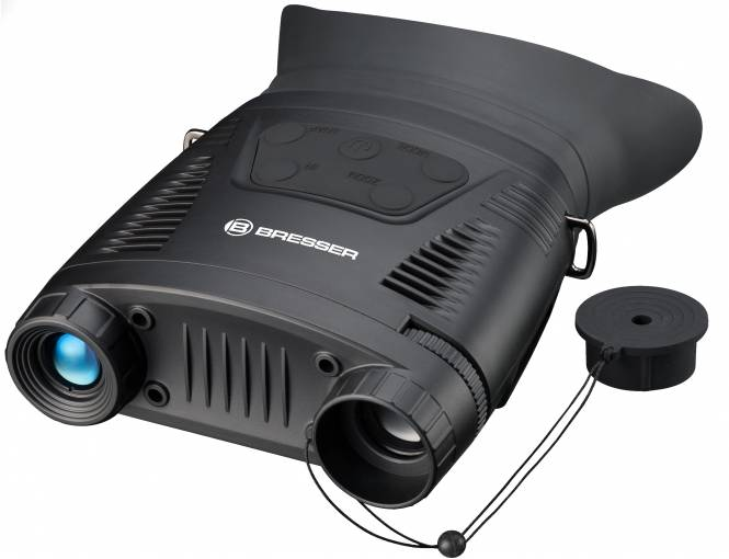 BRESSER Digital Nachtsichtgerät Binokular 3,5x m. Aufnahme Monochrom