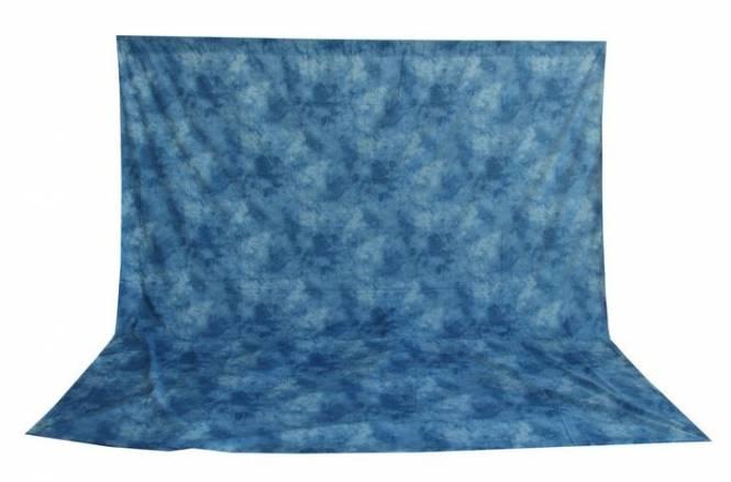 BRESSER BR-6103 waschbares Hintergrundtuch mit Muster 3x6m