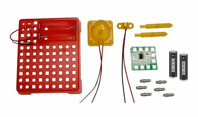BRESSER Junior Experimentierset Elektronischer Tonsensor