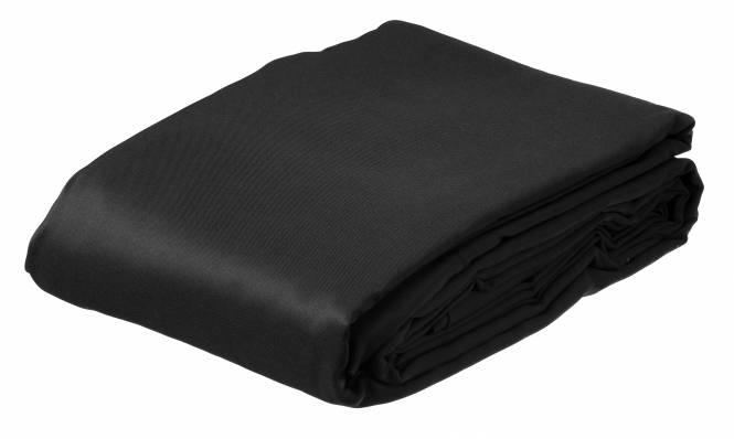 BRESSER BR-8P Polyester-Hintergrundtuch 3x6m schwarz